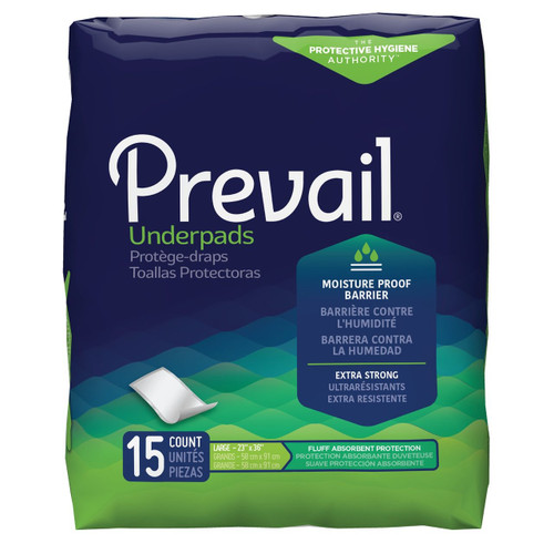 Prevail Underpads, Fluff