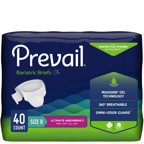 prevail bariatric diapers