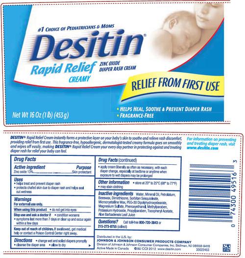 Desitin Rapid Relief Cream