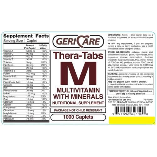 McKesson Multivitamin with Minerals