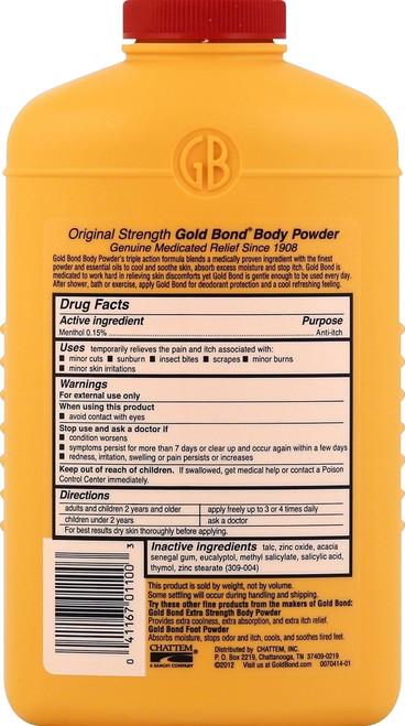 Gold Bond Body Powder