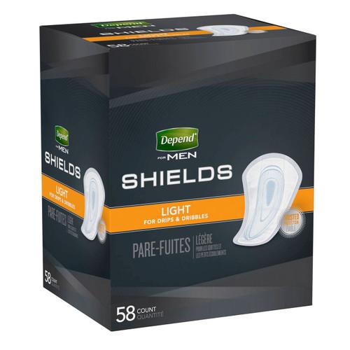 Depend Shields for Men, Light