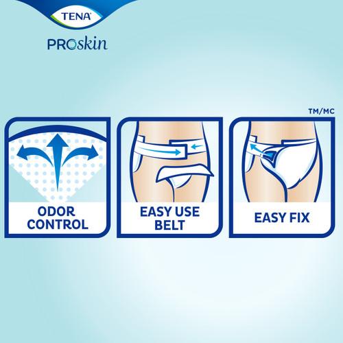 TENA ProSkin Flex Maxi Brief, Maximum Absorbency