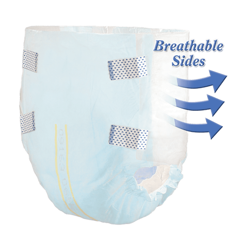 Select Soft N' Breathable Disposable Briefs with Tabs, Heavy
