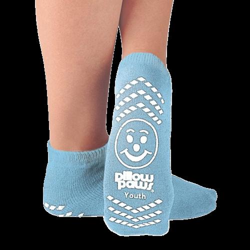Pillow Paws Non-Slip Slipper Socks, Youth
