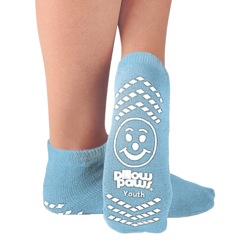 Pillow Paws Non-Slip Slipper Socks, Youth