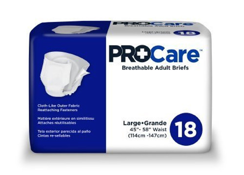 ProCare Breathable Adult Briefs with Tabs