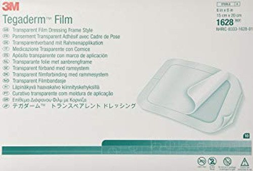 3M Tegaderm Transparent Film Dressing