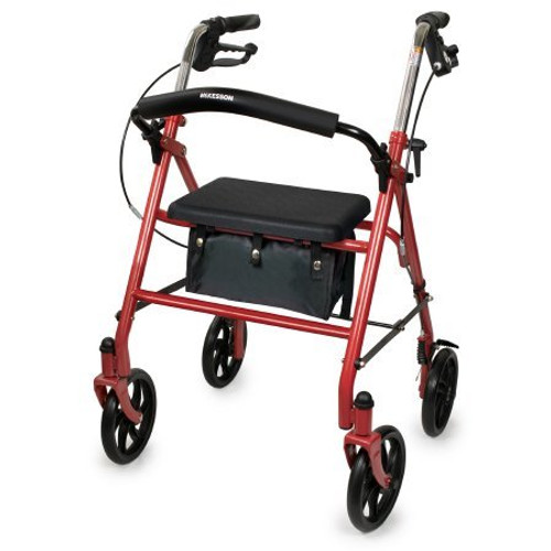McKesson 4 Wheel Folding Rollator