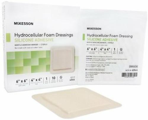 McKesson Square Silicone Foam Dressing