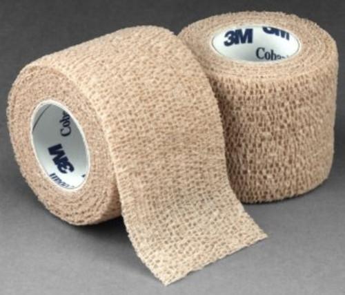 3M Coban Cohesive Bandage, Tan