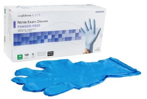 McKesson Confiderm 6.5CX Nitrile Extended Cuff Gloves