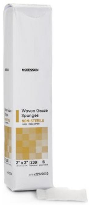 McKesson 12-Ply Gauze Sponges, NonSterile