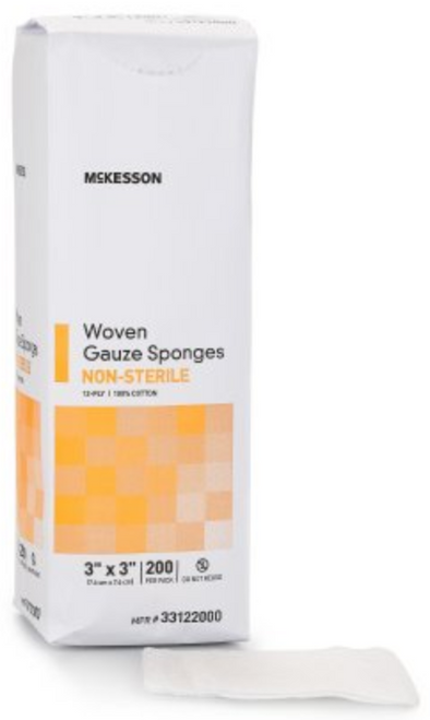 McKesson 12-Ply Gauze Sponges, NonSterile