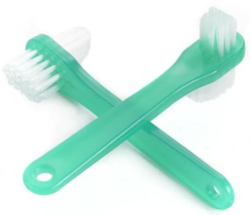 McKesson Denture Brush, 2-Sided Bristle