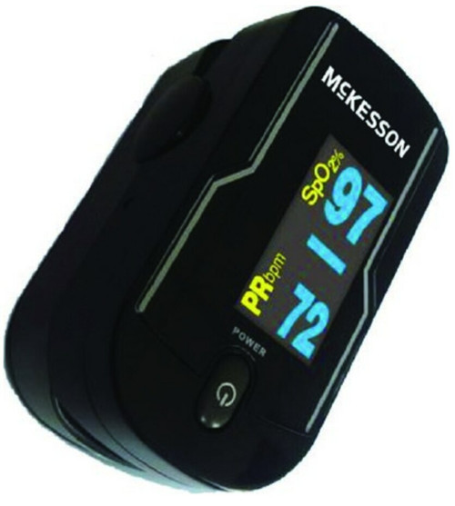 McKesson Fingertip Pulse Oximeter