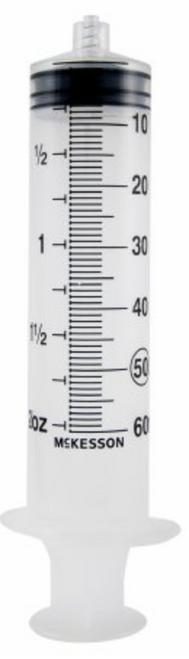 McKesson General Purpose Syringe - Luer Lock Tip - 60 mL