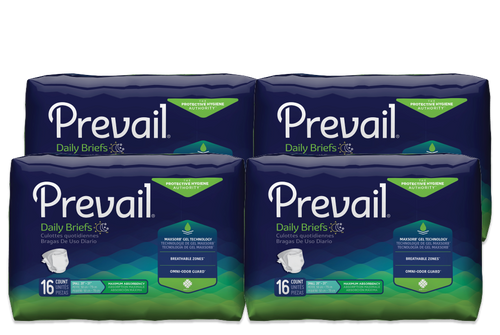 Prevail Daily Briefs with Tabs, Maximum