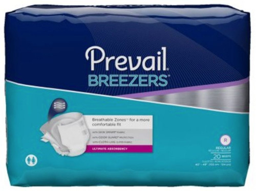 Prevail Breezers Adult Diapers with Tabs, Ultimate