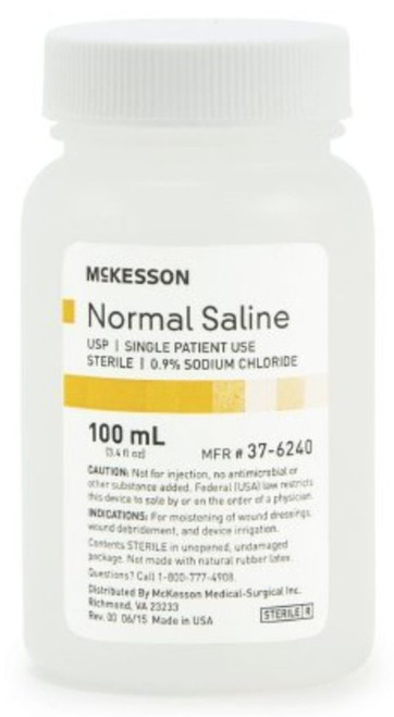 McKesson Irrigation Solution, Sodium Chloride