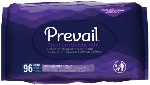 Prevail Personal Wipes with Aloe