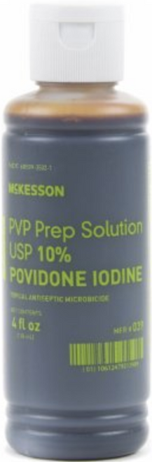 McKesson Prep Solution, 10% Povidone-Iodine