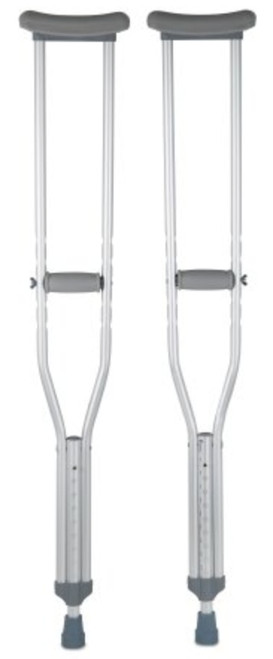 McKesson Underarm Crutches, Aluminium Frame