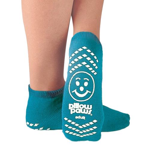 Pillow Paws Non-Slip Slipper Socks, Large
