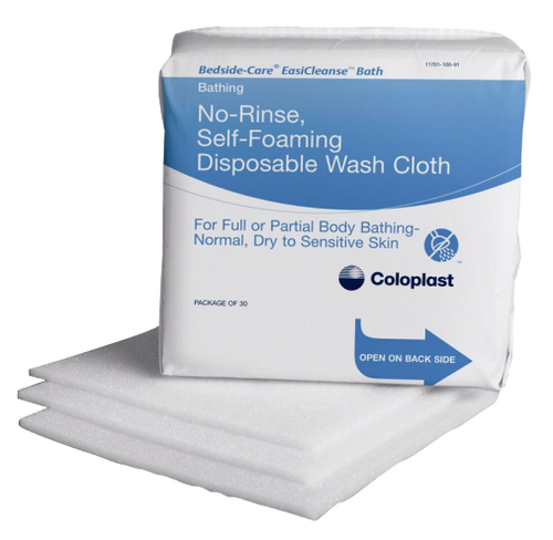 Bedside-Care EasiCleanse Bath Wipe, Unscented
