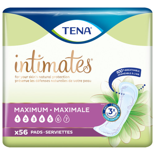 TENA Intimates Maximum Absorbency Incontinence Pads