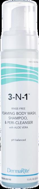 DermaRite 3-N-1 Cleansing Foam Body Wash