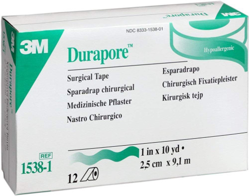 3M Durapore Silk-Like Cloth Medical Tape