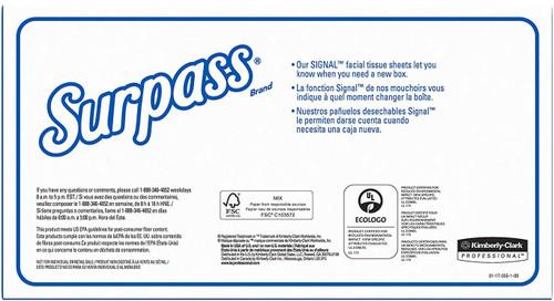 Surpass Facial Tissue