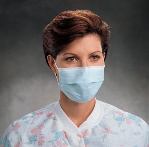O&M Halyard Pleated Procedure Mask