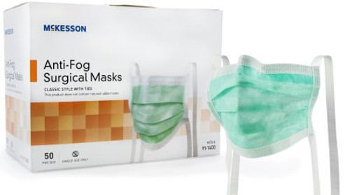 McKesson Pleated Surgical Mask