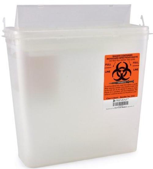 McKesson Prevent Sharps Container, 5 Quart