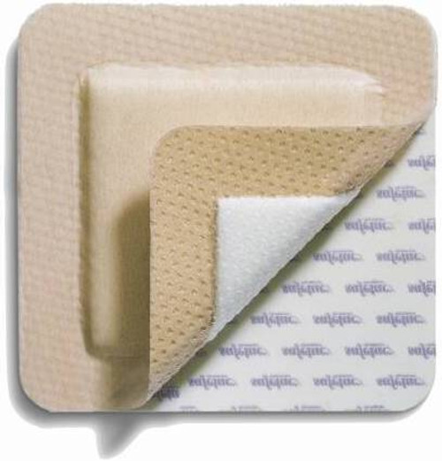 Mepilex Square Silicone Foam Dressing, Sterile
