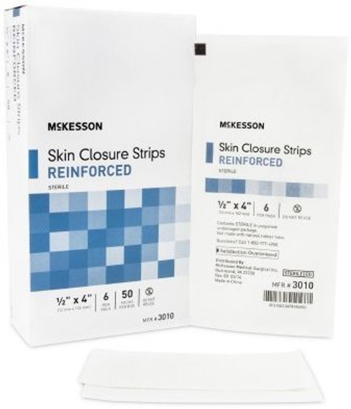McKesson Reinforced Skin Closure Strip