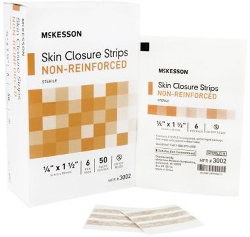 McKesson Flexible Skin Closure Strip