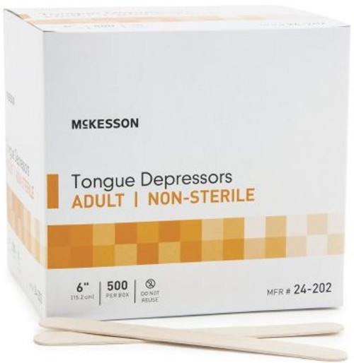 McKesson Tongue Depressor, NonSterile