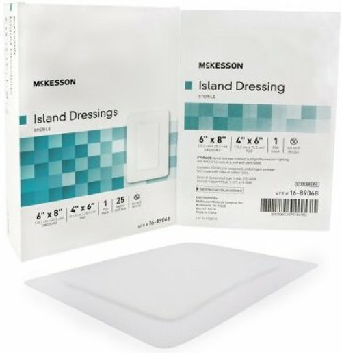 McKesson Adhesive Dressing, Rectangle