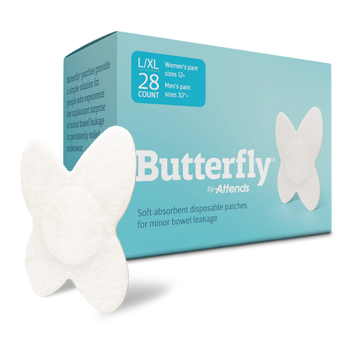 Attends Butterfly Incontinence Liner