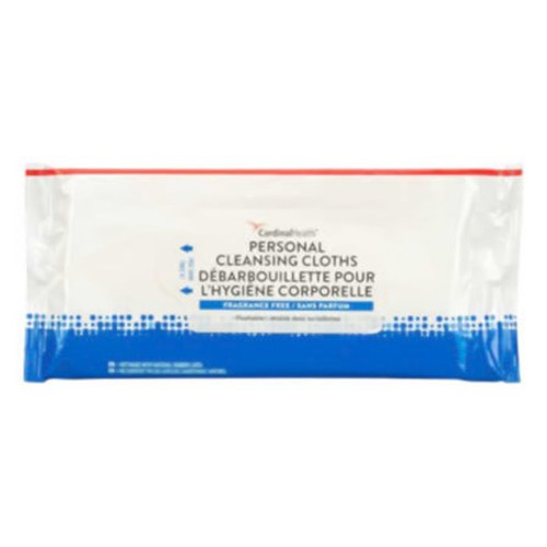 Cardinal Personal Cleansing Cloths Flushable