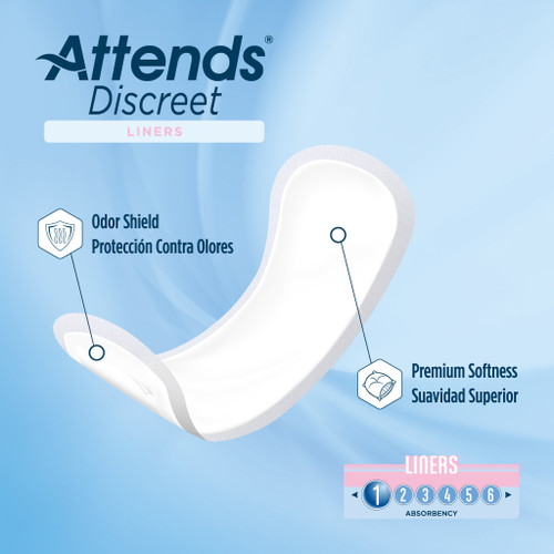 Attends Discreet Liners