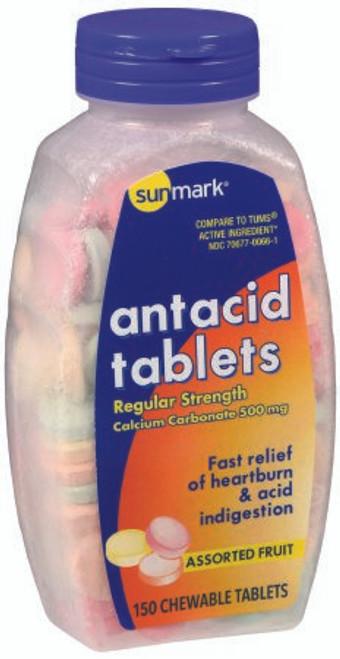 Sunmark Antacid Chewable Tablets