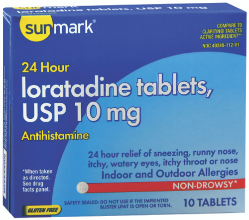 Sunmark Ioratadine Allergy Relief Tablets