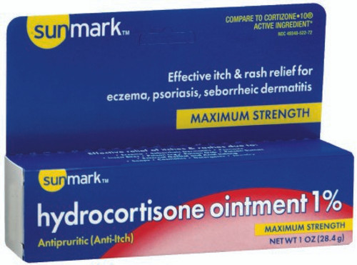 Sunmark Itch Relief Ointment Tube
