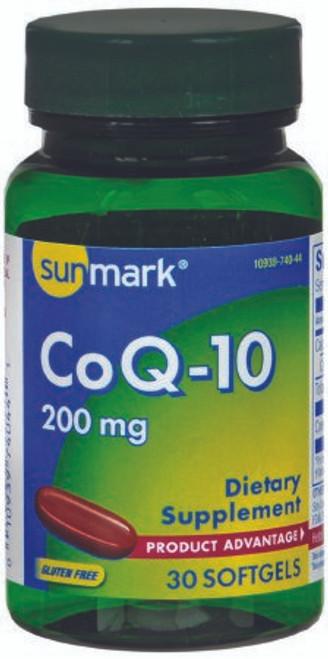 Sunmark Coenzyme Q-10 Softgels