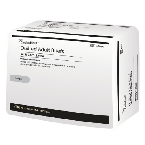 Simplicity Quilted Briefs with Tabs, Moderate