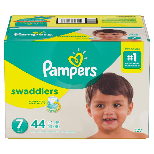 Pampers Swaddlers Baby Diapers with Tabs